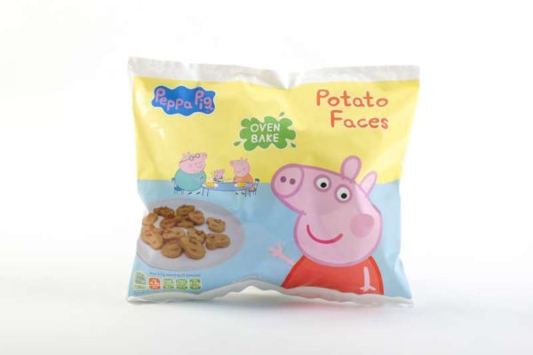 Peppa Pig Oven Bake Potato Faces 400g