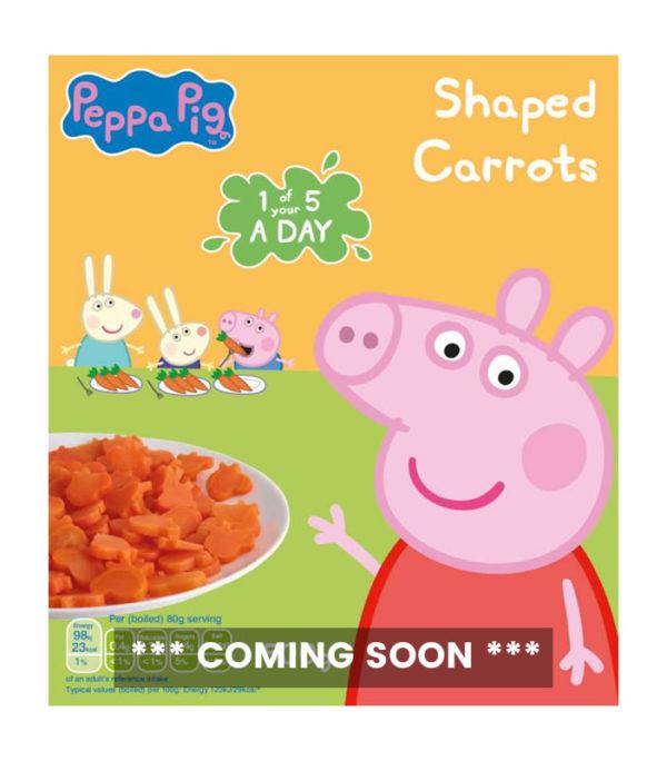 Peppa Pig 500g Carrots