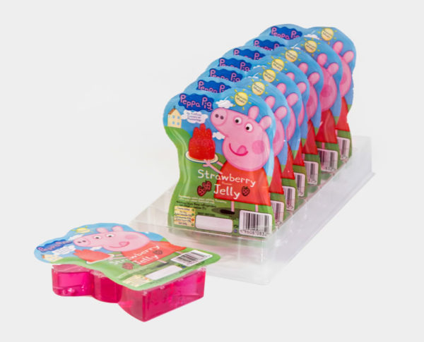 Peppa Pig ready to eat jelly 75g